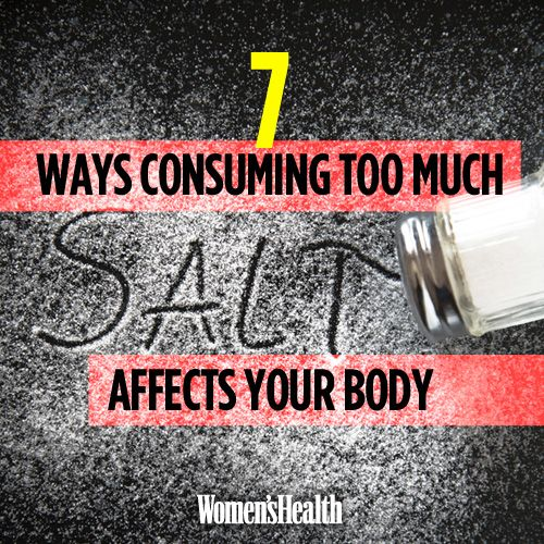 7 Ways Consuming Too Much Salt Affects YourBody
