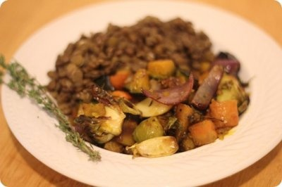 Cinnamon Honey Roasted Root Vegetables | The Main Course | Pinterest