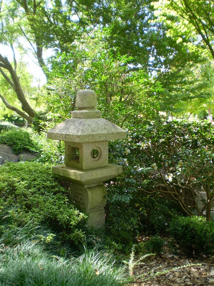 Stone Lantern Japanese Garden Jurakuen Pinterest