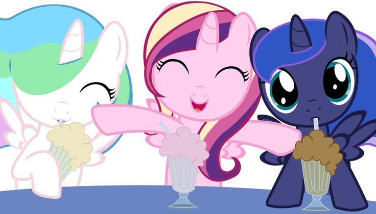Celestia, Cadence, Luna | My Little Pony Friendship is ...