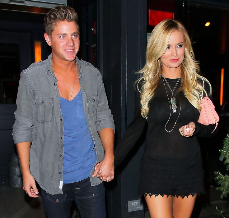 Jef Holm and Emily Maynard Celebrate His Birthday in New York City on July 24, 2012