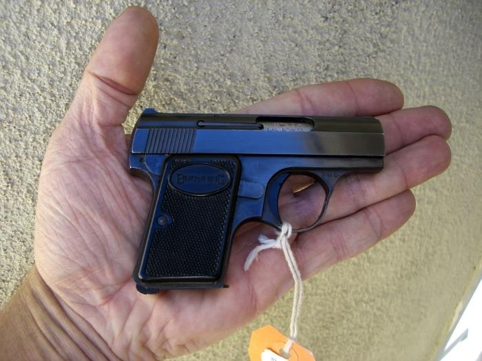 Browning (FN) - Baby Browning 6.35 mm .25 ACP Pistol Belgium NR - Picture 1