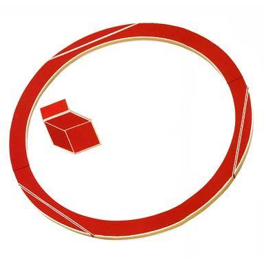 Giampaolo Babetto - Cod. 8052 Collare ed anello oro 750 e resine sintetiche, 1983
