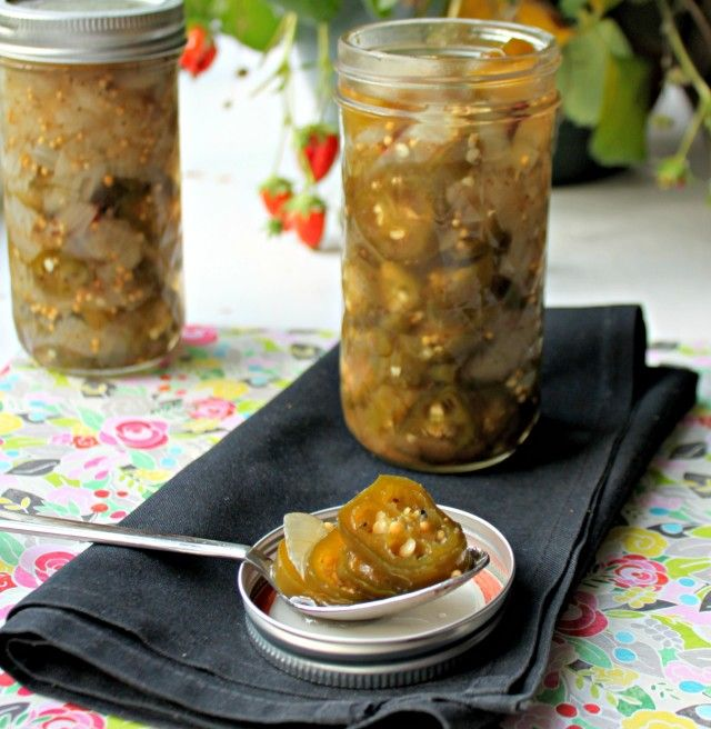 Bread and Butter Pickled Jalapenos -- I love B jalapenos, but I used ...