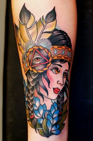 Indian girl tattoo body art i 39 m addicted pinterest for Jim sylvia unbreakable tattoo