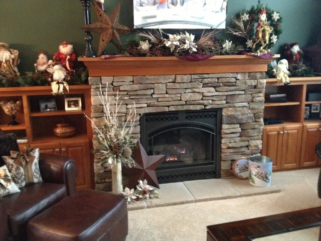 christmas mantel decorating ideas pinterest