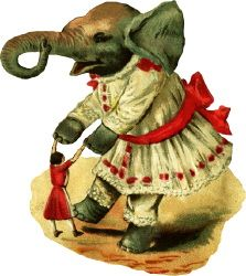 Dancing Elephant Ephemera