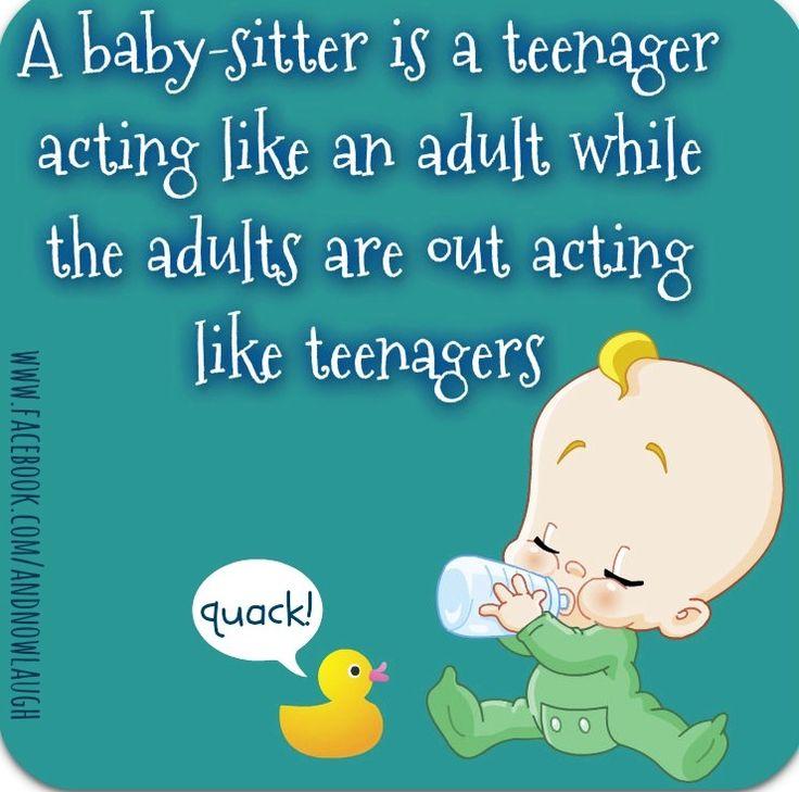 Babysitter quote via
