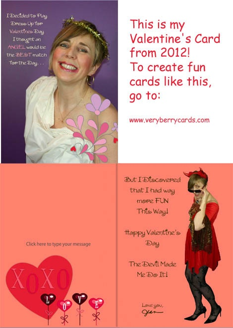 valentine card send