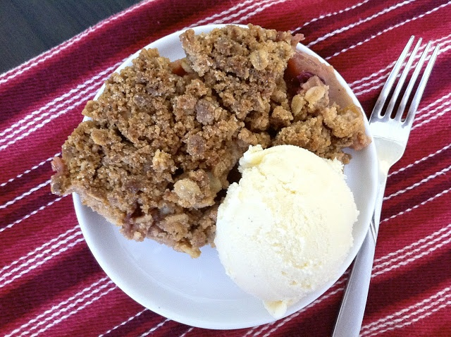 Crisp Apple Cranberry Crumble | Crisps & Cobblers | Pinterest