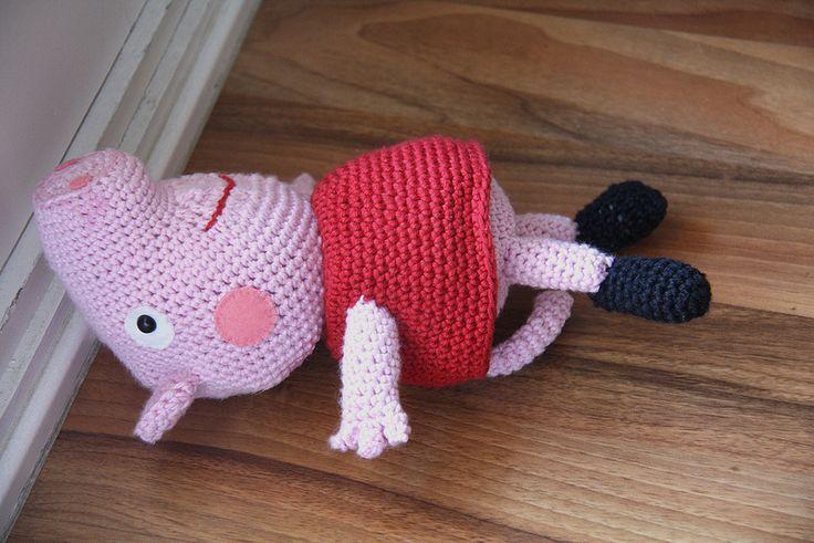 Pig Rabbit Amigurumi Patron : Peppa Pig Amigurumi Crochet apexwallpapers.com