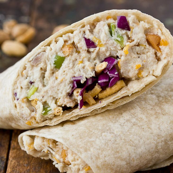 Cashew Chicken Salad Wraps - Try this recipe with Earth Balance ...