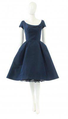 A Pierre Balmain haute couture dress, circa 1955