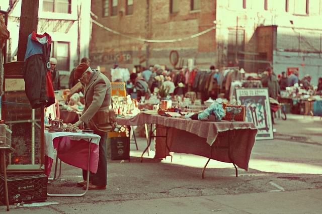 New York Flea Markets.