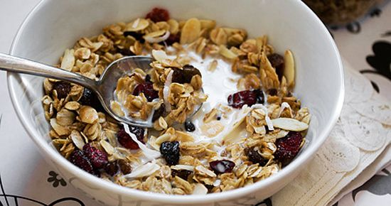 Granola | Breakfasts - yet to try | Pinterest