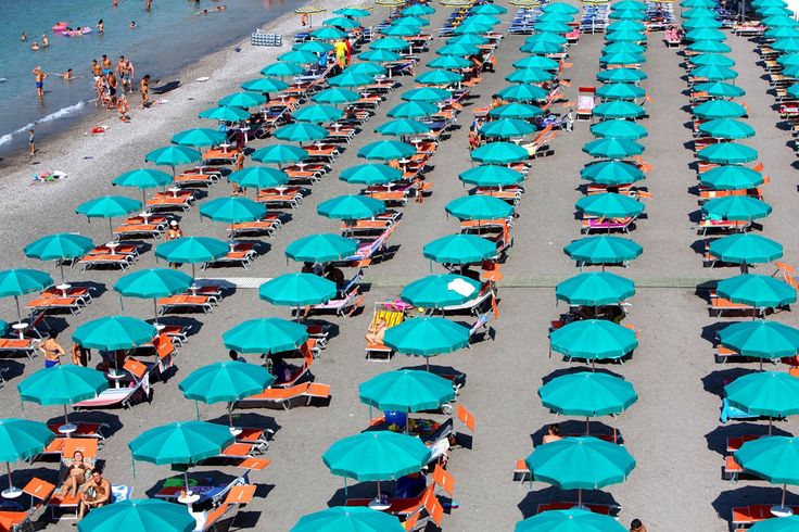 judith gigliotti beach umbrellas photograph