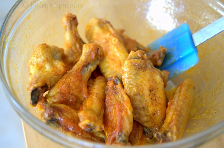 Crispy Baked Chicken Wings - trying this tonight with a sweet and ...