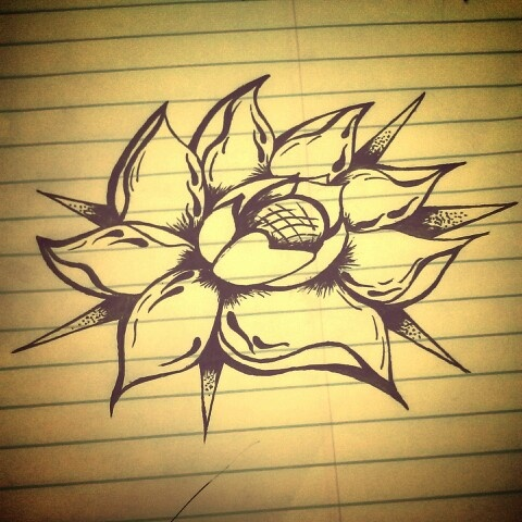 how to draw a fancy flower