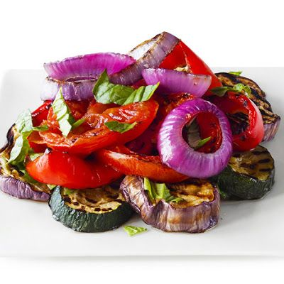 Grilled Ratatouille Salad | Hot off the Grill | Pinterest