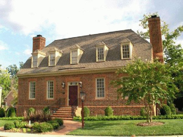 Williamsburg my home colonial design pinterest for Williamsburg house plans