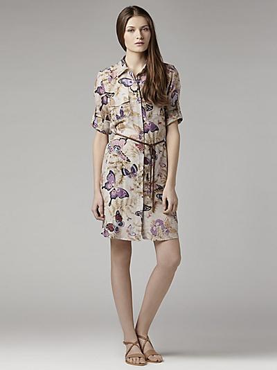 Gerard Darel Butterfly dress