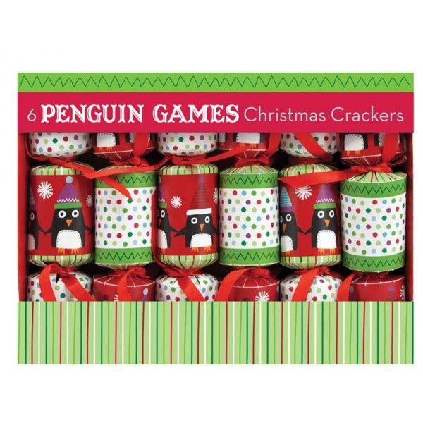 christmas crackers with games