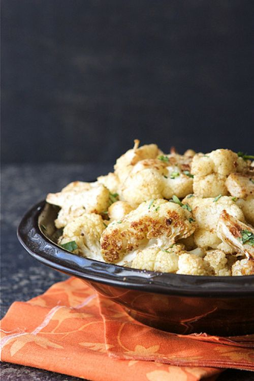 Roasted Cauliflower with Indian Spices (Cumin & Coriander) | Recipe