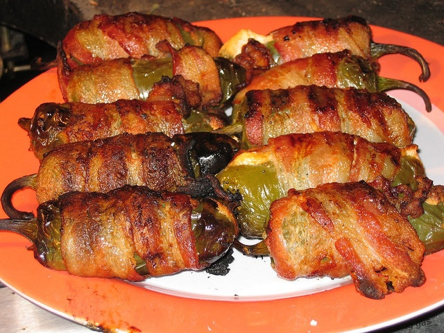 Bacon-Wrapped Jalapeño Poppers   Let's Cook Something Yummy!   Pinter ...