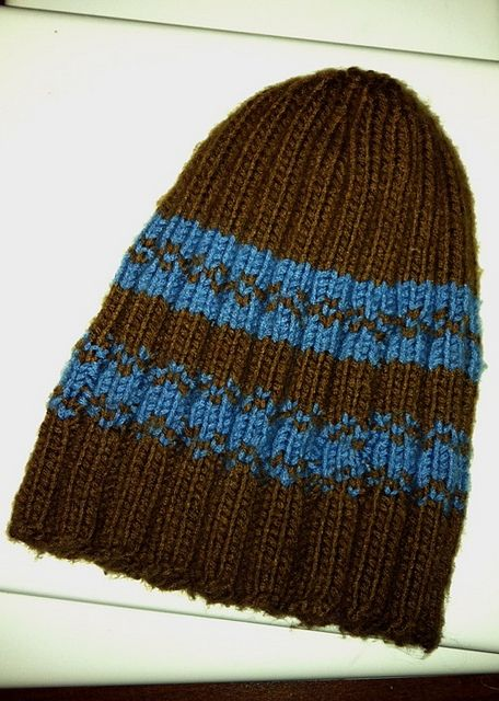 Crochet Beanie Pattern Ribbed : Free Pattern: Brandon Ribbed Beanie Hat KNITTED AND ...