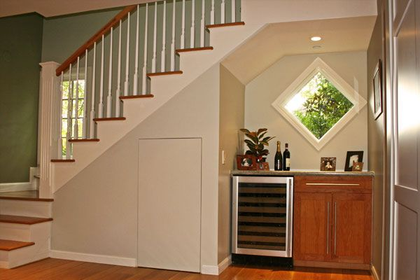 Staircase Sliding Cabinet Image For The Home Pinterest