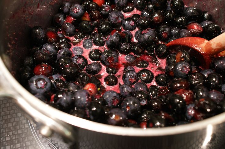 Fresh Blueberry Compote | Good Food | Pinterest