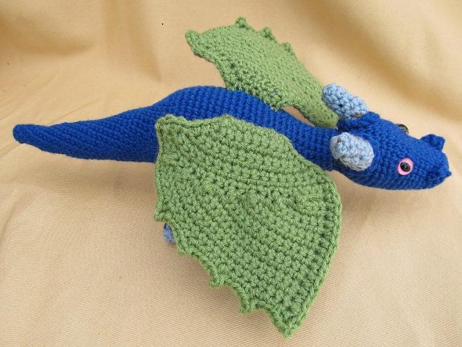 Crochet Dragon : crochet dragon Kierstin Board Pinterest
