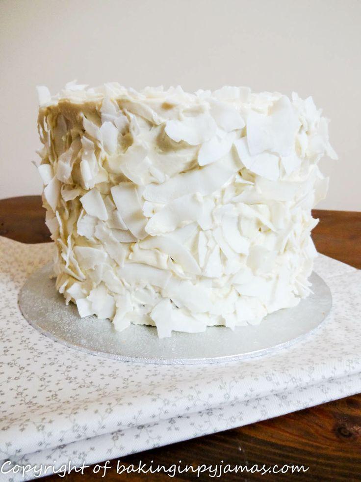Perfumed Coconut Cake Recipe — Dishmaps