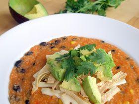 Vegan tortilla soup | Vegan/Gluten free Recipes | Pinterest