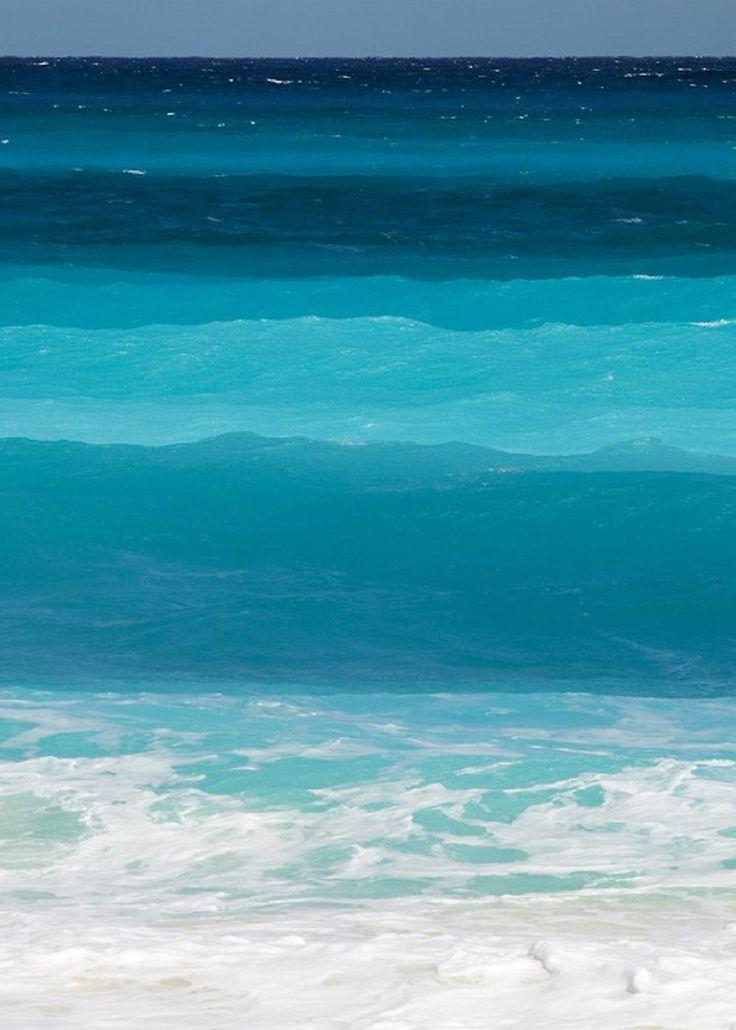 Ocean Colors Cancun Mexico