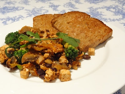 Mexican inspired tofu scramble | Love loves tofu and tempeh | Pintere ...