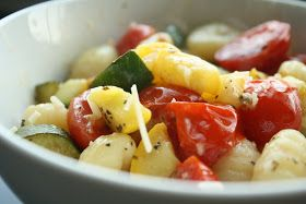 The {UN}eventful Life: Gnocchi with Summer Vegetables