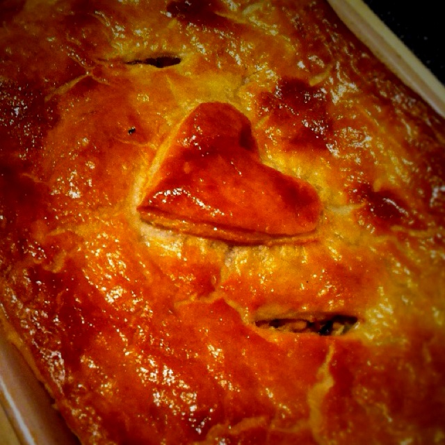 Chicken and leek pie. | Pies, Tarts, and Galettes! | Pinterest