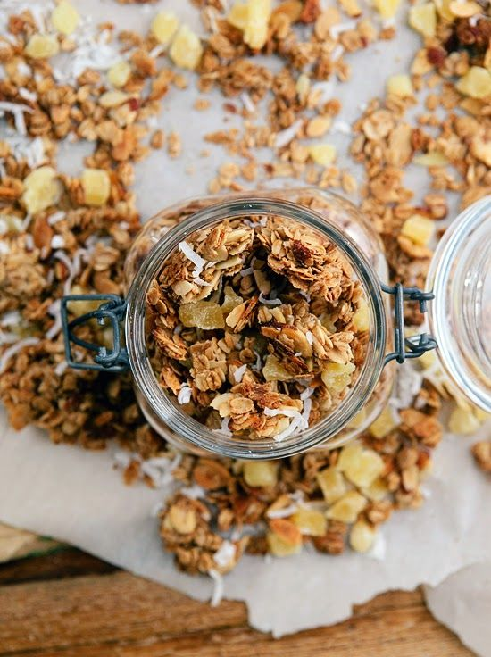 Chunky Tropical Granola | Some the Wiser