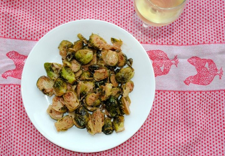 dijon braised brussels sprouts | Food | Pinterest