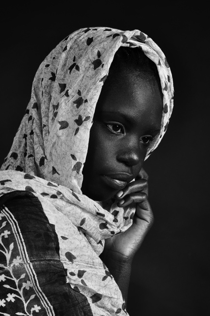 girl from sudan