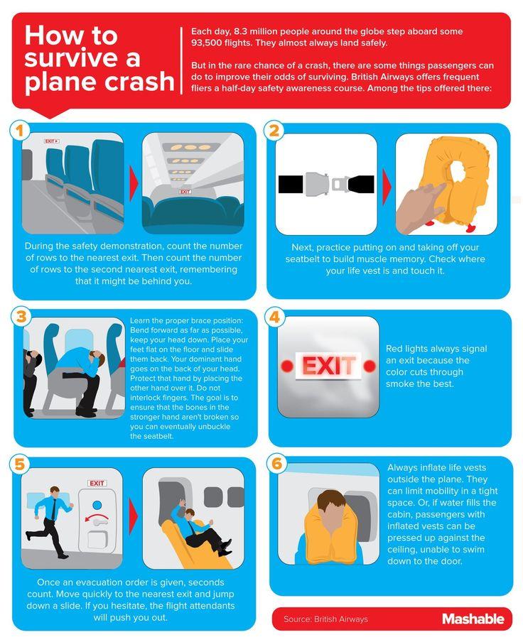How to survive a plane crash.