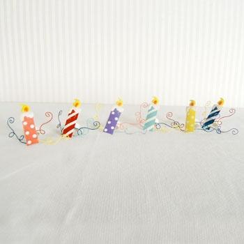 Metal Napkin Ring Candles Set Of 6 These Napkin