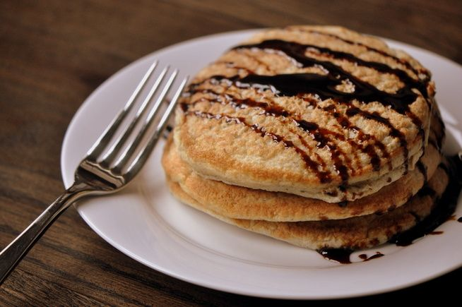 Whole Wheat Spiced Apple Pancakes   Breakfast/brunch   Pinterest