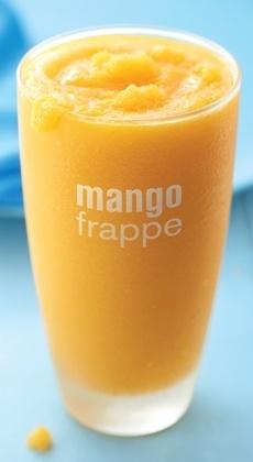 mango frappe | Food & Beverages | Pinterest