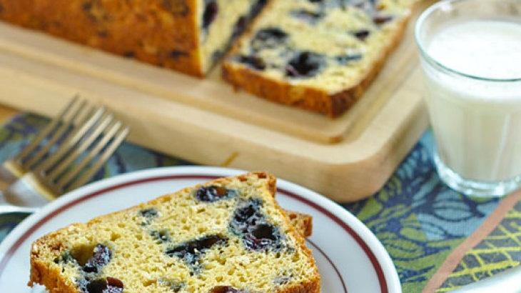 Blueberry-Oat Quick Bread Recipe | Bread-Quick | Pinterest