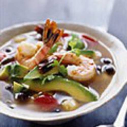 Shrimp Soup with Black Beans and Hominy | Food | Pinterest