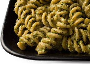 Fusilli With Parsley, Walnut, And Black Olive Pesto Recipes ...