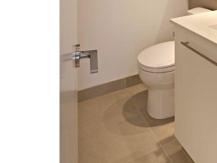 Bathroom Tile Floor Molding : Tile baseboard bathroom