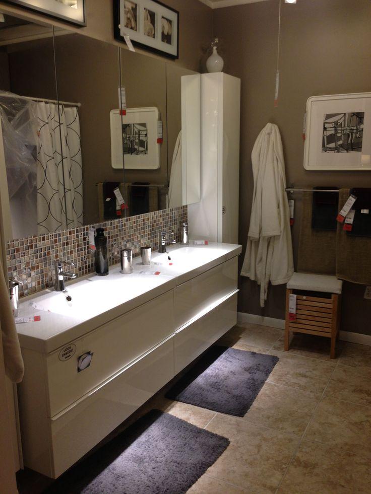 ikea bathroom i bought a house pinterest